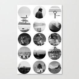 Around the World Canvas Print