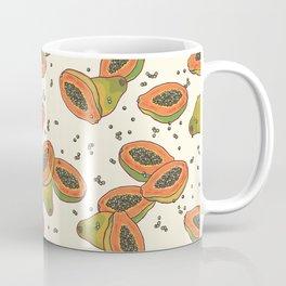 papaya pattern Coffee Mug