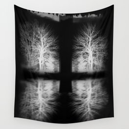 The Black Mist Wall Tapestry