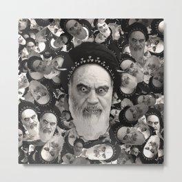 Horned Ayatollah Monsters Metal Print