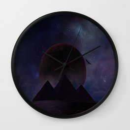 Fantasy world Wall Clock