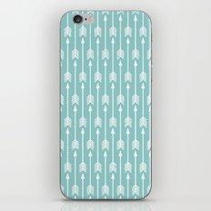 Blue Arrow iPhone & iPod Skin