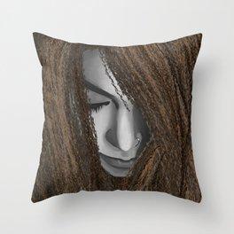 Asunder Throw Pillow
