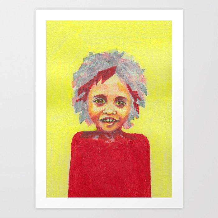 Les petites filles I.20 Art Print