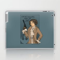 She's Young, Scrappy, and Hungry. Laptop & iPad Skin