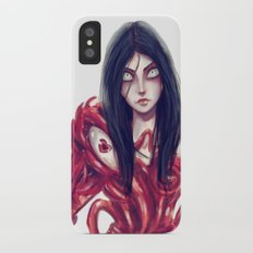 We're All Mad Here iPhone X Slim Case