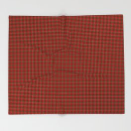 MacKinnon Tartan Throw Blanket