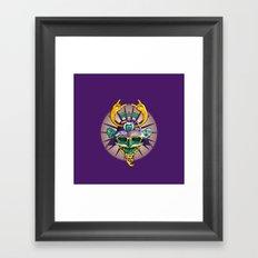 Urban Samurai Framed Art Print