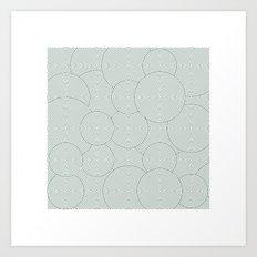 #495 Garden – Geometry Daily Art Print