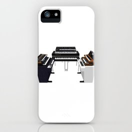 Vintage Keyboards / Synthesizers iPhone Case