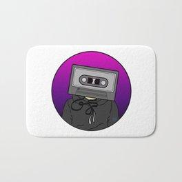 Icelapse Macintosh - Music Inspired Cassette Tape Digital Vector Bath Mat