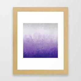 Lavender mist Framed Art Print