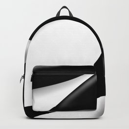 curving shadow Backpack