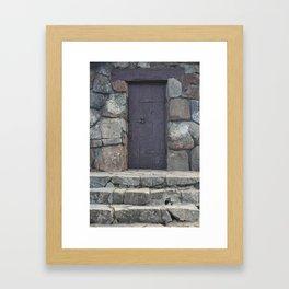 Another Door Framed Art Print