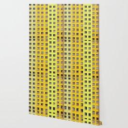 Yellow Urban Geometry Wallpaper