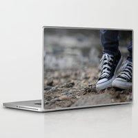 converse Laptop & iPad Skins featuring Converse by AJ Calhoun