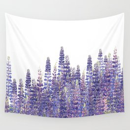 Just Lupine Wall Tapestry