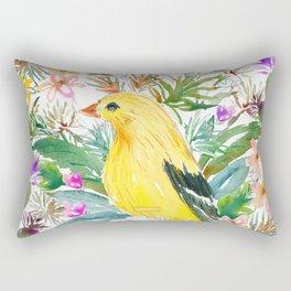AURORA THE GOLDFINCH Rectangular Pillow