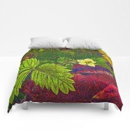 Wild Strawberry Plant Comforters