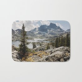 Partly Cloudy Afternoon in the Eastern Sierra Bath Mat