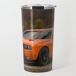 Hugger Orange Challenger RT Dukes of Hazard Travel Mug