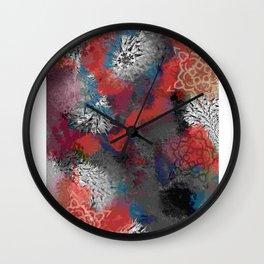 Grungeycollage Wall Clock