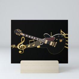 Guitar Music Mini Art Print