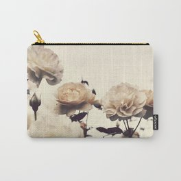 Yellow Rose Garden Carry-All Pouch