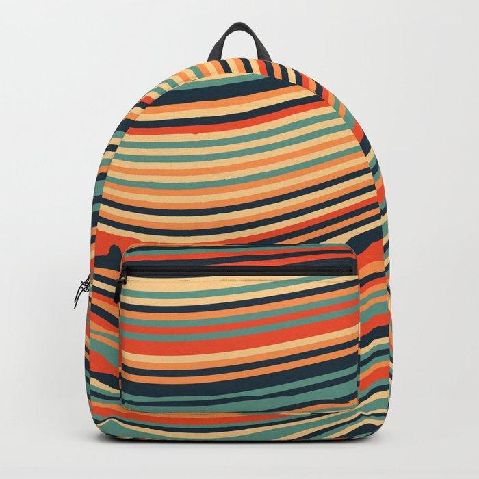 Calm Summer Sea Backpack