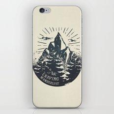 Craving wanderlust III iPhone & iPod Skin