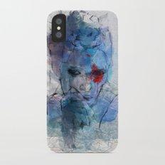blue lover iPhone X Slim Case