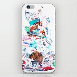 Trash Pile iPhone Skin