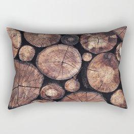 The Wood Holds Many Spirits Rectangular Pillow