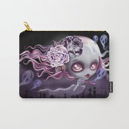 Ghostly Luna Carry-All Pouch