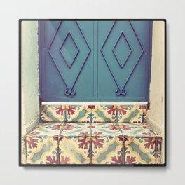Pattern & colore Metal Print