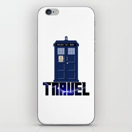 Doctor Travel iPhone Skin
