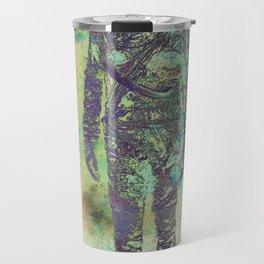 Silver Spaceman Inverted Travel Mug