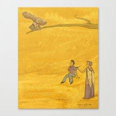 The Bird of Truth Canvas Print