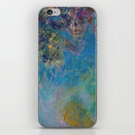 Wisteria by Claude Monet iPhone Skin