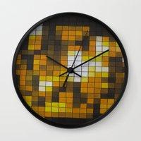 chandelier Wall Clocks featuring Chandelier by Hayley Q. Drewyor