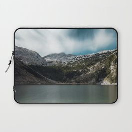 Magnificent lake Krn with mountain Krn, Slovenia Laptop Sleeve