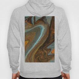 wave acrylic marble Hoody
