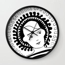 Bodhisattva Wall Clock