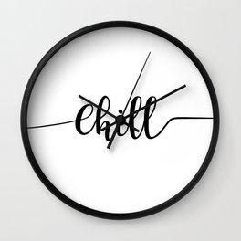 Chill Wall Clock