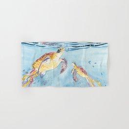 Take A Breath Sea Turtle Hand & Bath Towel
