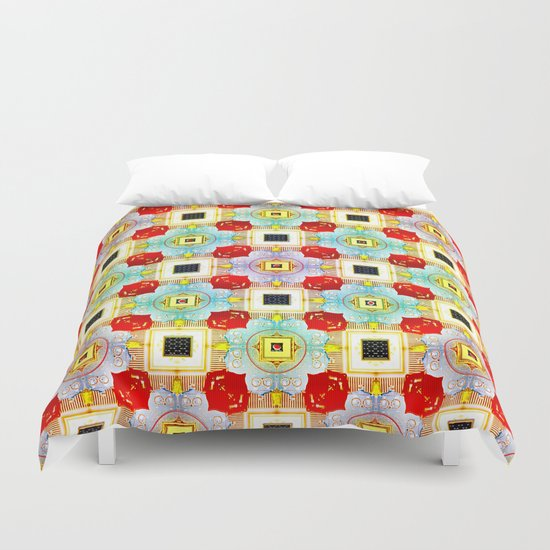 Embellecimiento Pattern Duvet Cover