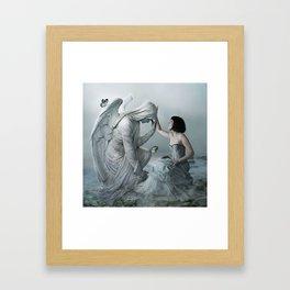 Comforting Angels Framed Art Print