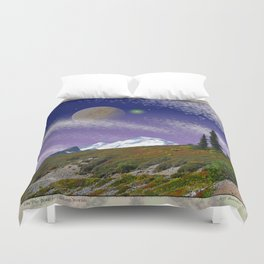 ON THE TRAIL TO DISTANT WORLDS Duvet Cover