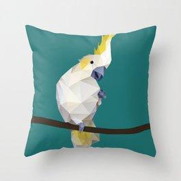Cockatoo. Throw Pillow