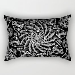 Dreamspun (Black) Rectangular Pillow